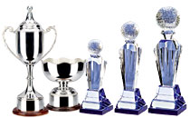 Silver Cups & Crystal Awards