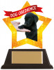 MINI-STAR DOG OBEDIENCE ACRYLIC PLAQUE (AC19653A)