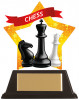 MINI-STAR CHESS ACRYLIC PLAQUE (AC19640A)